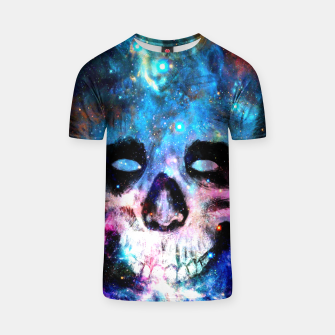 Miniatur Space Skull T-shirt, Live Heroes