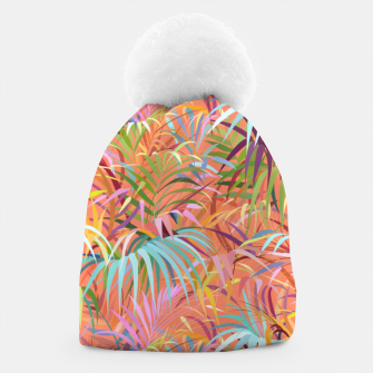 Thumbnail image of Tropical Mood of the Coral Season Beanie, Live Heroes