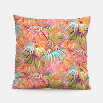 Thumbnail image of Tropical Mood of the Coral Season Pillow, Live Heroes