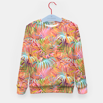 Thumbnail image of Tropical Mood of the Coral Season Kid's sweater, Live Heroes