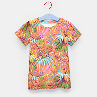Thumbnail image of Tropical Mood of the Coral Season Kid's t-shirt, Live Heroes