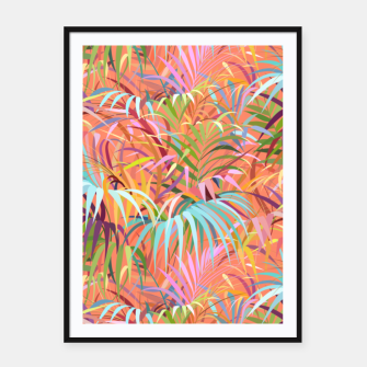 Miniaturka Tropical Mood of the Coral Season Framed poster, Live Heroes