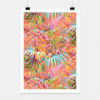 Miniaturka Tropical Mood of the Coral Season Poster, Live Heroes