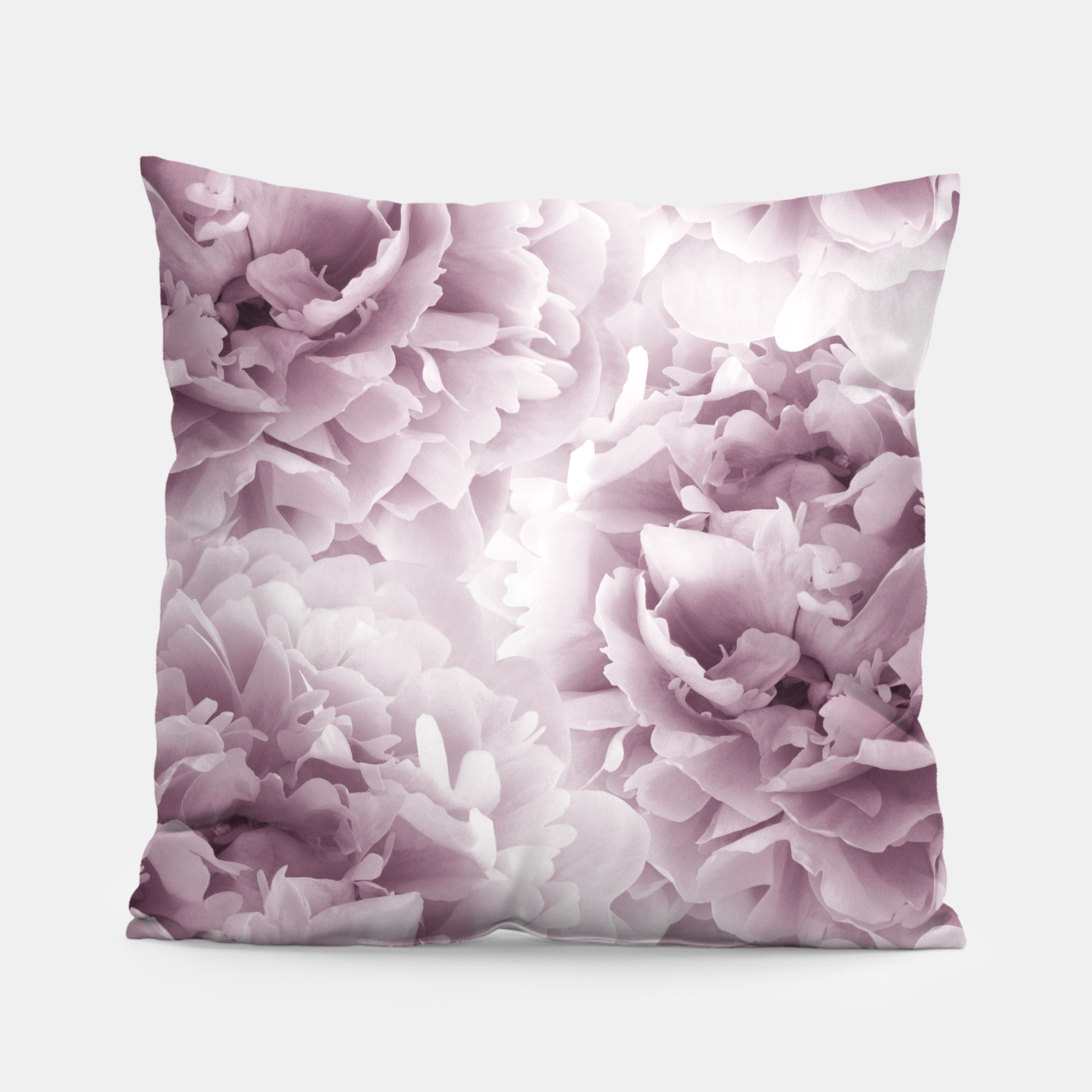 Foto Mauve Peonies Dream #1 #floral #decor #art Kissen - Live Heroes