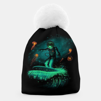 Thumbnail image of Surfing Astronaut Beanie, Live Heroes