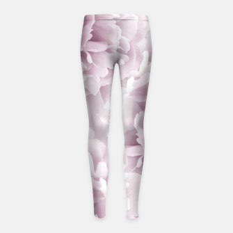 Mauve Peonies Dream #1 #floral #decor #art Kinder-Leggins Bild der Miniatur