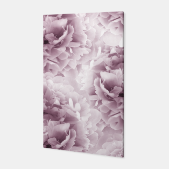 Mauve Peonies Dream #1 #floral #decor #art Canvas obraz miniatury