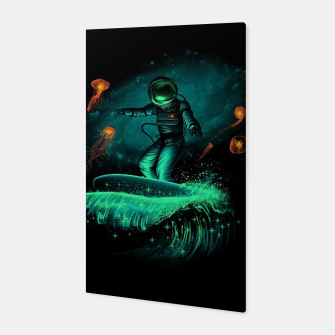 Thumbnail image of Surfing Astronaut Canvas, Live Heroes