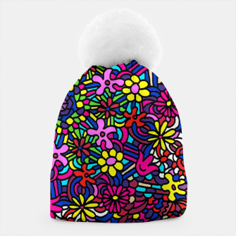 Thumbnail image of Flower Power Art Beanie, Live Heroes
