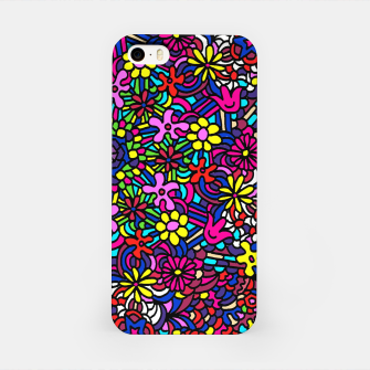 Miniatur Flower Power Art iPhone Case, Live Heroes