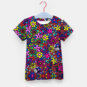Miniatur Flower Power Art Kid's t-shirt, Live Heroes