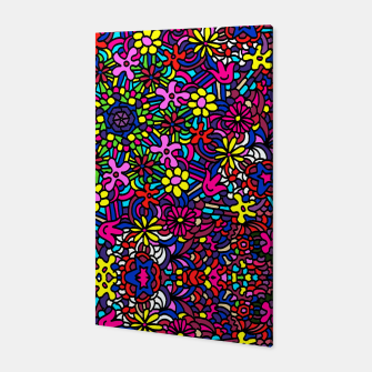 Miniatur Flower Power Art Canvas, Live Heroes