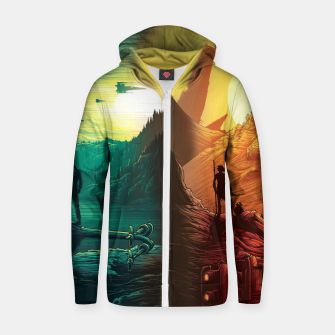 Thumbnail image of Star Wars Zip up hoodie, Live Heroes