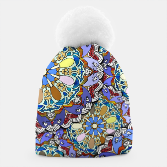 Thumbnail image of Mandala Style Art Layers   Beanie, Live Heroes