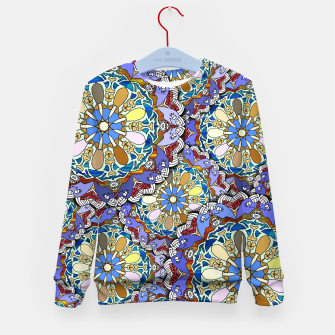 Thumbnail image of Mandala Style Art Layers   Kid's sweater, Live Heroes