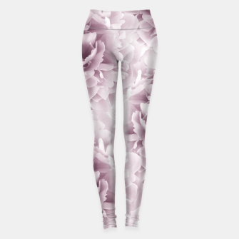 Mauve Peonies Dream #1 #floral #decor #art Leggings obraz miniatury