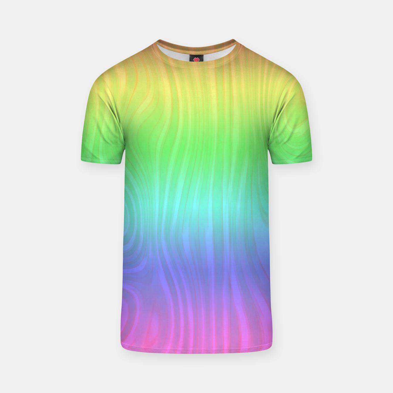 Image of Groovy Pastel Rainbow T-shirt - Live Heroes