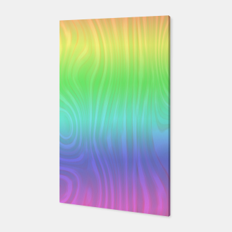 Thumbnail image of Groovy Pastel Rainbow Canvas, Live Heroes