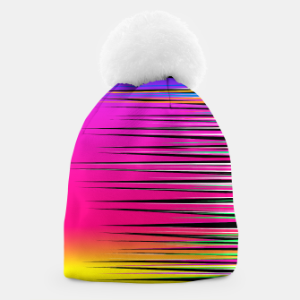 Thumbnail image of Rainbow Spikes Beanie, Live Heroes