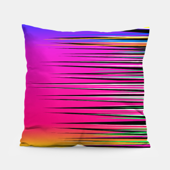 Thumbnail image of Rainbow Spikes Pillow, Live Heroes