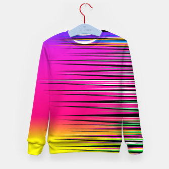 Thumbnail image of Rainbow Spikes Kid's sweater, Live Heroes