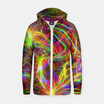 Thumbnail image of Psychedelic Zip up hoodie, Live Heroes