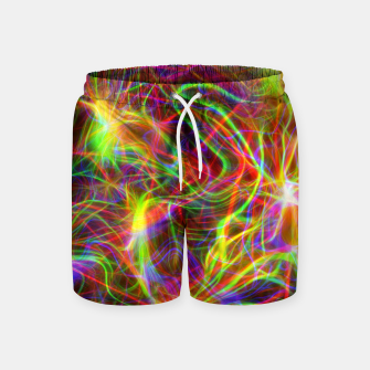 Thumbnail image of Psychedelic Swim Shorts, Live Heroes
