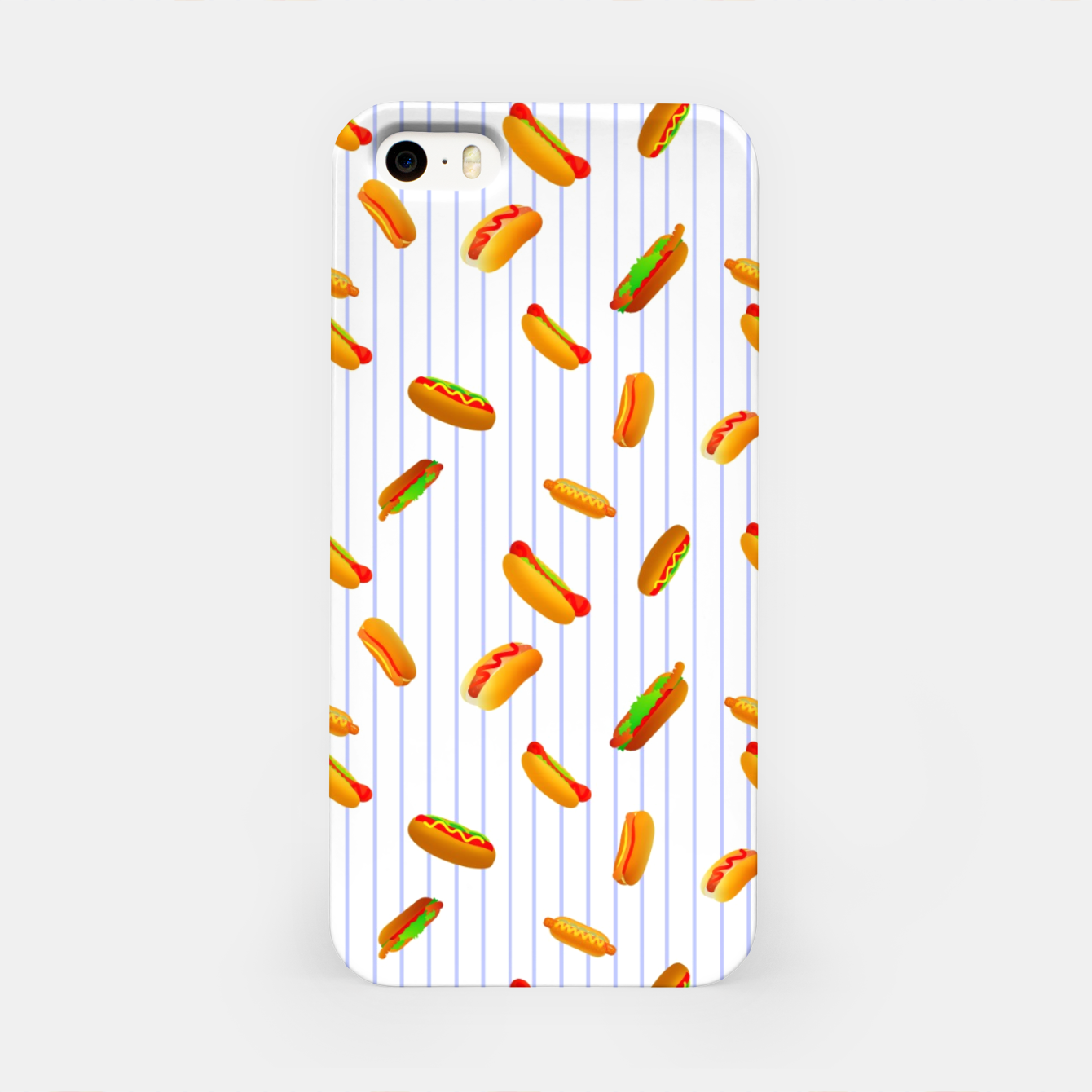 Image of Hot Dogs Pattern  iPhone Case - Live Heroes