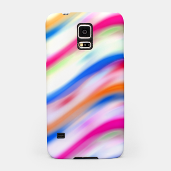 Miniaturka Vivid Colorful Wavy Abstract Print Samsung Case, Live Heroes