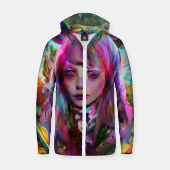 Thumbnail image of ahri league of legends Zip up hoodie, Live Heroes
