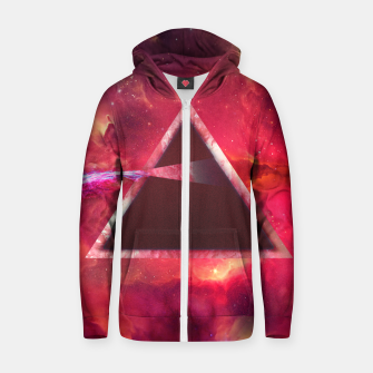 Thumbnail image of Red Pink Floyd Zip up hoodie, Live Heroes