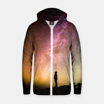 Thumbnail image of Colorful Sunset Zip up hoodie, Live Heroes