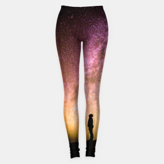 Thumbnail image of Colorful Sunset Leggings, Live Heroes
