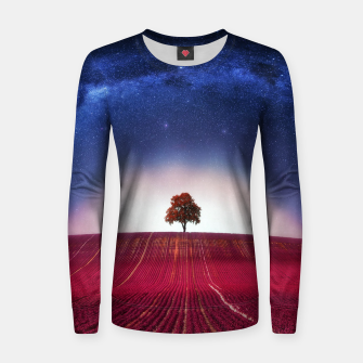 Thumbnail image of Tree of Sky Women sweater, Live Heroes