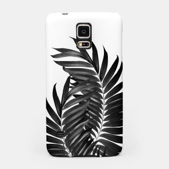 Thumbnail image of Palm Leaves Black & White Vibes #5 #tropical #decor #art Handyhülle für Samsung, Live Heroes
