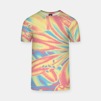 Thumbnail image of Pastel flowers T-Shirt, Live Heroes