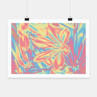 Thumbnail image of Pastel flowers Plakat, Live Heroes
