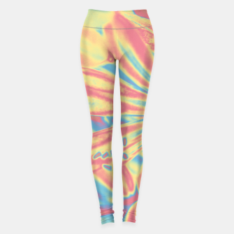 Thumbnail image of Pastel flowers Leggings, Live Heroes