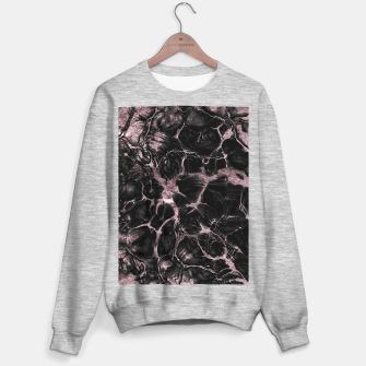 Miniature de image de Undefined Mauve Gold Abstract #1 #decor #art  Sweatshirt regulär, Live Heroes