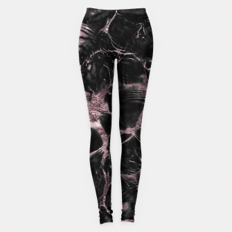 Thumbnail image of Undefined Mauve Gold Abstract #1 #decor #art  Leggings, Live Heroes