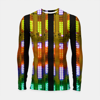 Thumbnail image of Lights on Longsleeve rashguard, Live Heroes