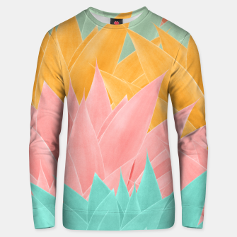 Thumbnail image of Agave Summer Dream #1 #tropical #decor #art Unisex sweatshirt, Live Heroes
