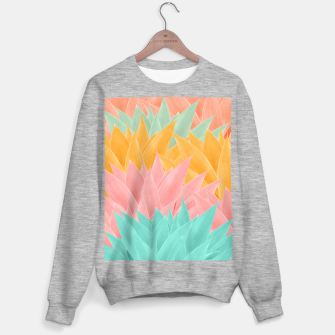 Miniature de image de Agave Summer Dream #1 #tropical #decor #art Sweatshirt regulär, Live Heroes