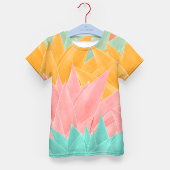 Thumbnail image of Agave Summer Dream #1 #tropical #decor #art T-Shirt für kinder, Live Heroes