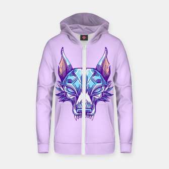 Thumbnail image of Live Wolves Zip up hoodie, Live Heroes