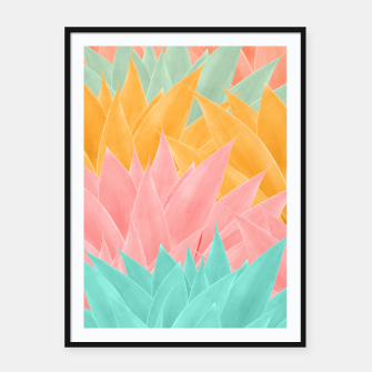 Miniature de image de Agave Summer Dream #1 #tropical #decor #art Plakat mit rahmen, Live Heroes
