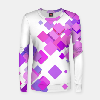 Thumbnail image of Pink Blocks Women sweater, Live Heroes