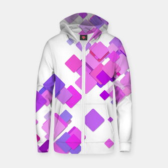 Thumbnail image of Pink Blocks Zip up hoodie, Live Heroes