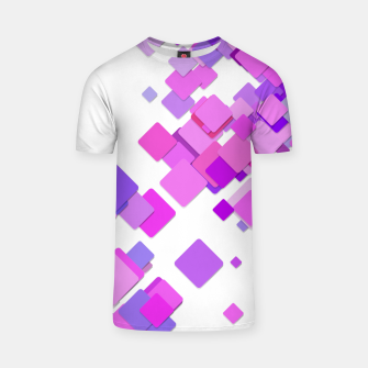 Thumbnail image of Pink Blocks T-shirt, Live Heroes