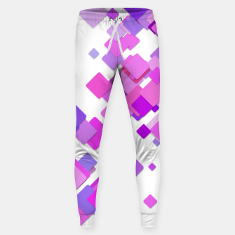 Thumbnail image of Pink Blocks Sweatpants, Live Heroes